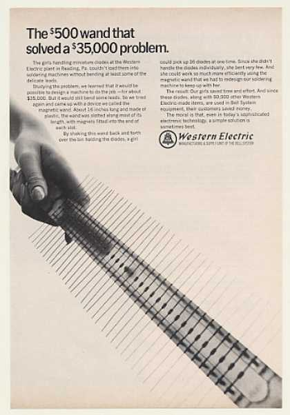 &#8217;68 Bell Telephone Western Electric Diode Wand (1968)