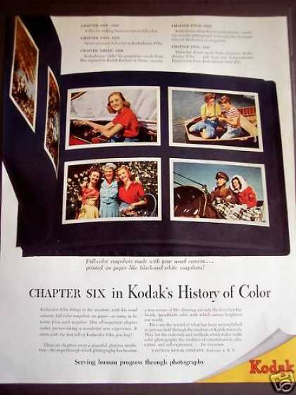 Kodak's History of Color Photography (1946)