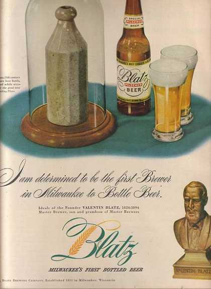 """Milwaukee's First Bottled Beer"" (1947)"
