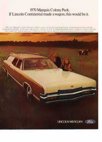 Ford Marquis Colony Park Wagon Car – Sold (1970)