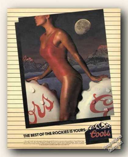 Coors Beer Best of the Rockies Advertising (1983)