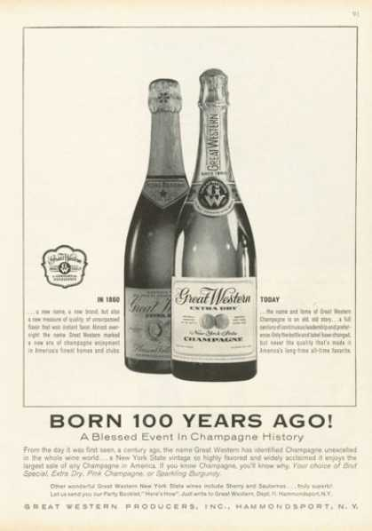 Great Western Champagne Bottle (1959)