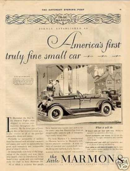 Marmon Eight Car (1927)