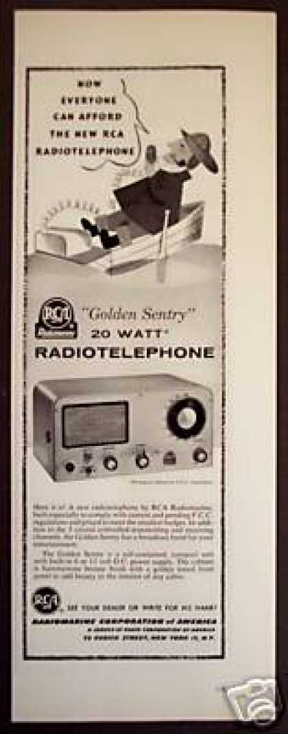 Rca Radiomarine Dc Powered Radio Telephone (1956)