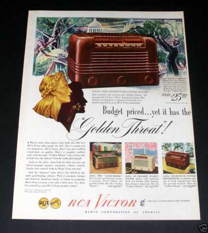 Rca Victor Radio, Golden (1946)