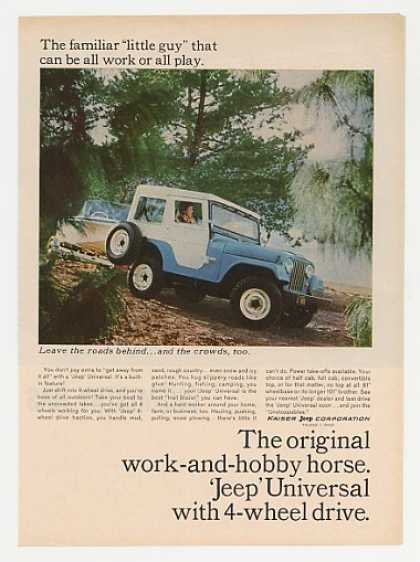Jeep Universal Familiar Little Guy Work Play (1965)