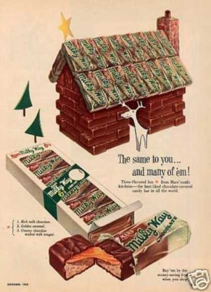 Mars Milky Way Candy (1953)