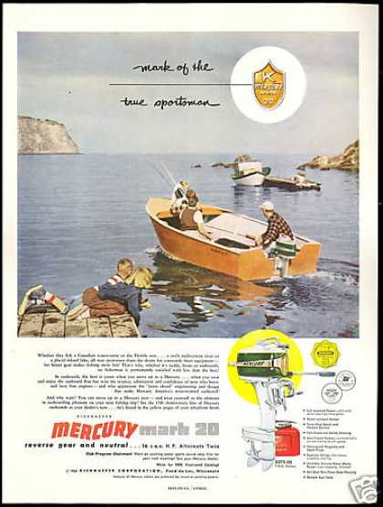 Mercury Mark 20 Outboard Boat Motor (1954)