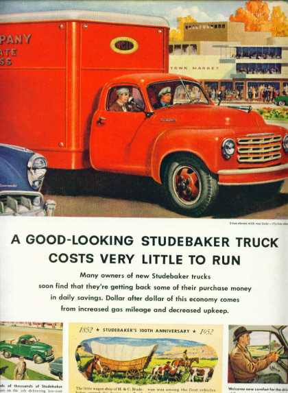 Studebaker Truck 2 Ton Model Shown (1952)