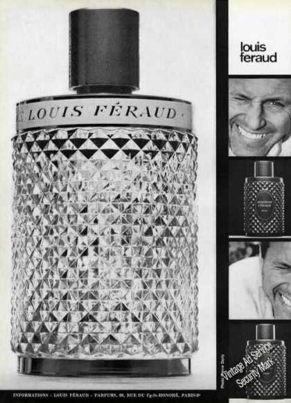 Louis Feraud Parfums French Perfume (1965)