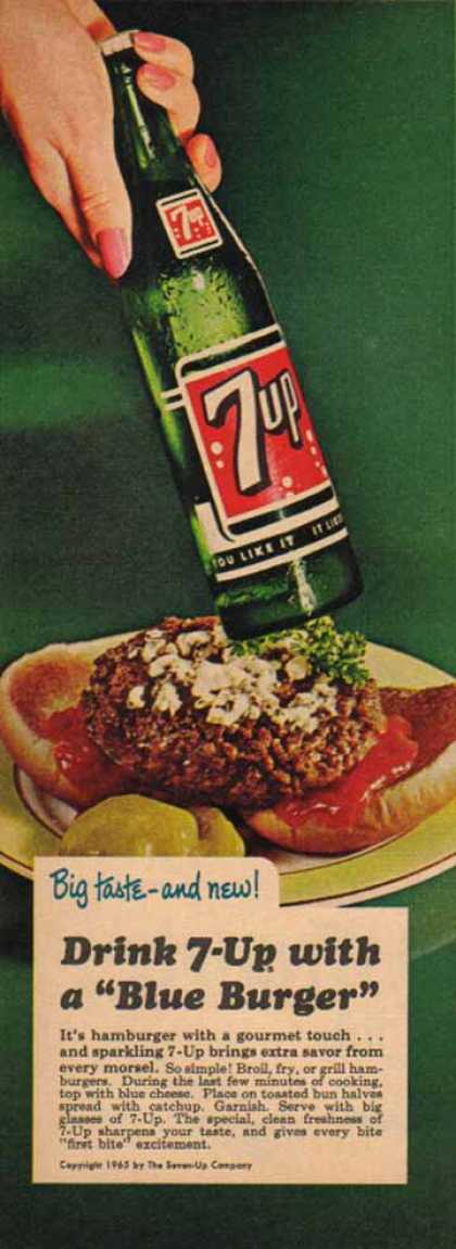 Seven Up Soft Drink (1965)