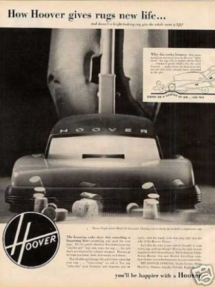 Hoover Vacuum Cleaner (1952)