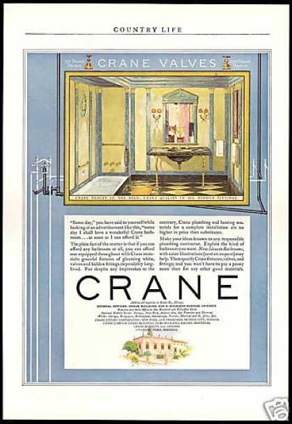 Crane Bathroom Plumbing Fixtures (1929)