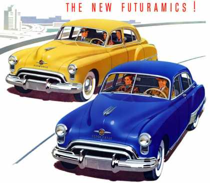 "Oldsmobile Futuramic ""76"" and Futuramic ""98"" (1949)"