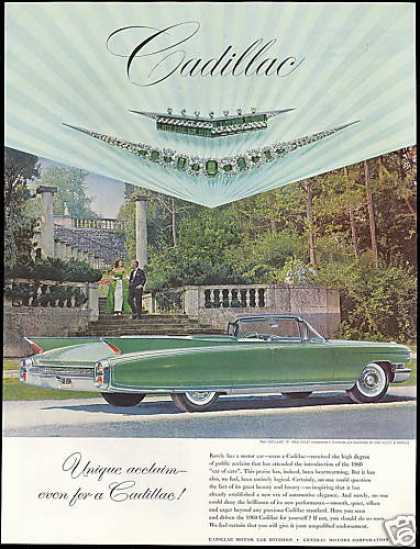 Cadillac Green Eldorado Convertible Photo (1960)