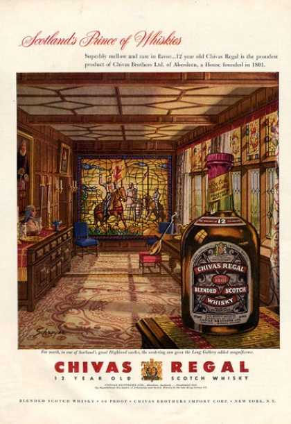 Chivas Regal Higland Castle Long Gallery (1954)