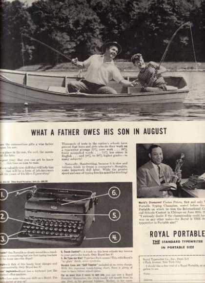 Royal (Royal Portable Typewriters) (1941)