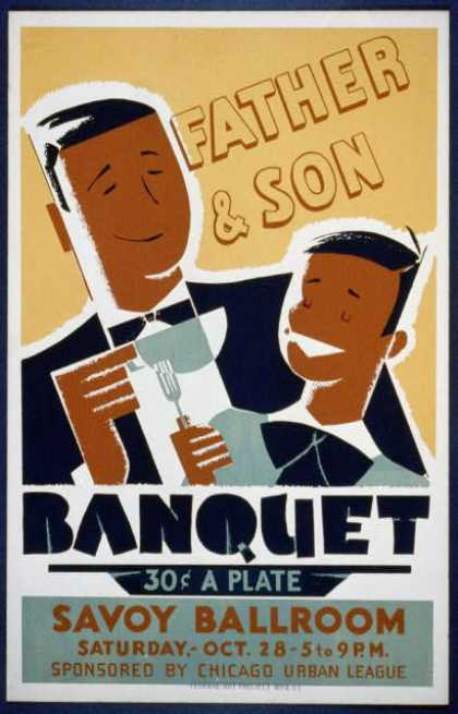 Father & son banquet. (1939)