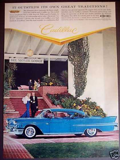 Cadillac at Del Monte Lodge Car (1958)