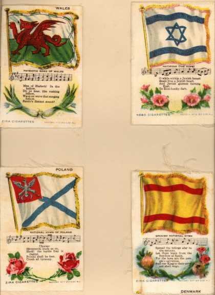 Unknown [Lorillard?]'s Zira and Nebo Cigarettes – National Flag Series – Image 1