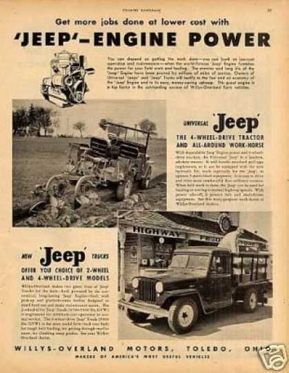Willys Universal Jeep & Truck (1948)