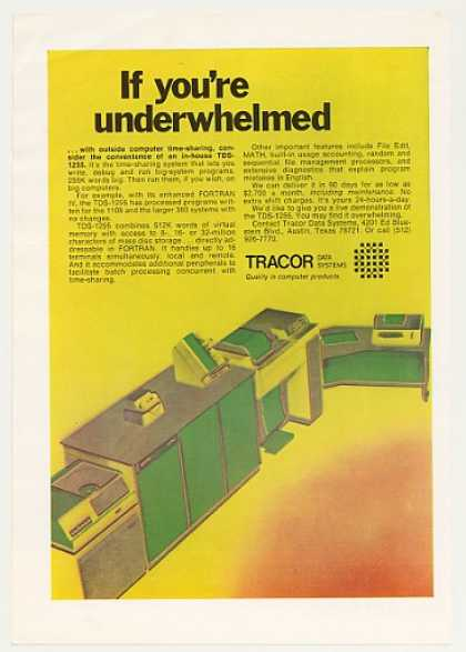 Tracor Data Systems TDS-1255 Computer (1971)