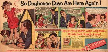 Colgate – So Doghouse Days Are Here Again (1957)