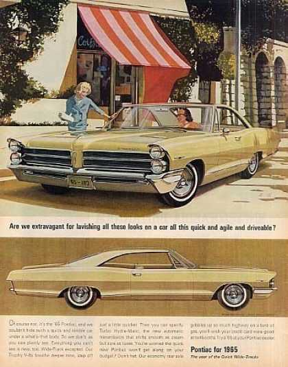 "Pontiac Catalina Car Ad ""Are We Extravagant... (1965)"