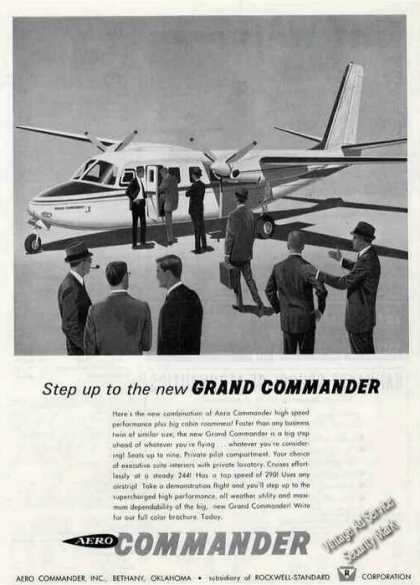 "Aero ""Grand"" Commander Art Airplane (1963)"