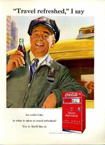 Coke Coca Cola Taxi Driver Machine (1951)