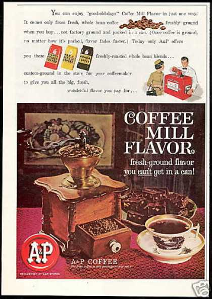 A&P Grocery Store Coffee Vintage (1961)