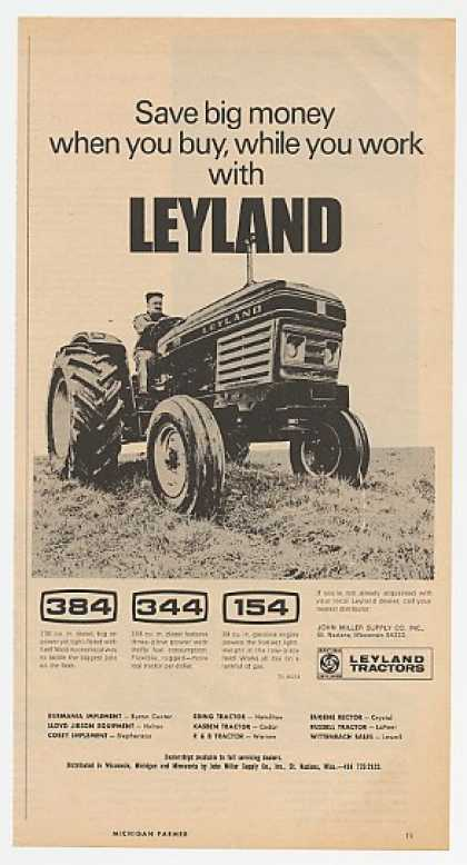 Leyland 384 Tractor Save Big Money (1971)