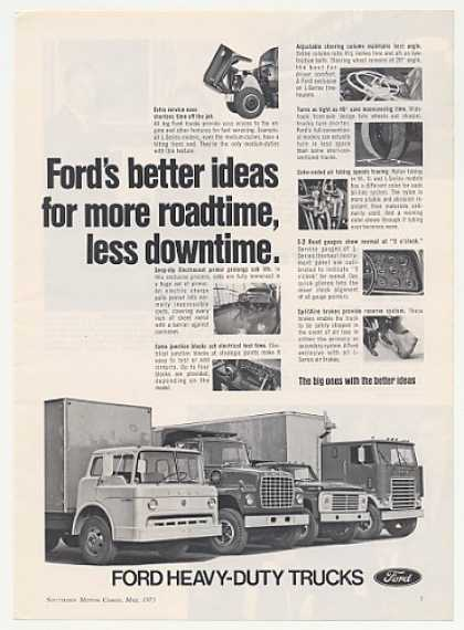 Ford Heavy-Duty Trucks More Roadtime (1971)