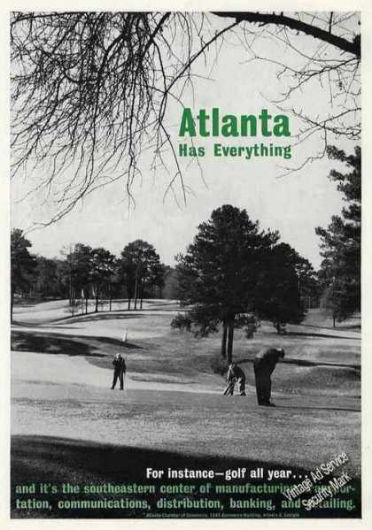 Atlanta Has Everything Golf All Year (1963)