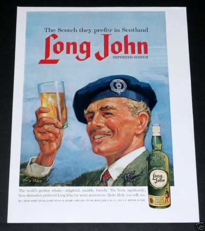 Long John Scotch Whisky (1963)