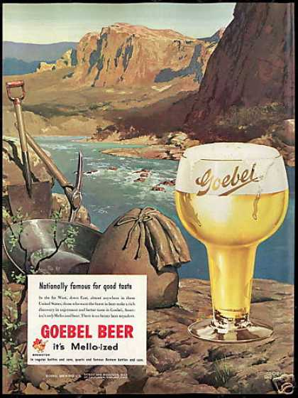 Goebel Beer George Shepherd Art Vintage (1951)