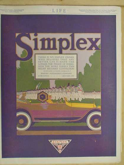 Simplex Automobile Co. (1916)