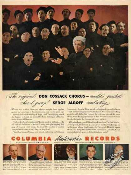 Don Cossack Chorus Russian Music Columbia (1943)