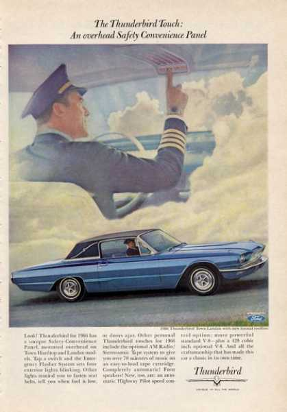 For the '66 Thunderbird Blue Pilot (1965)
