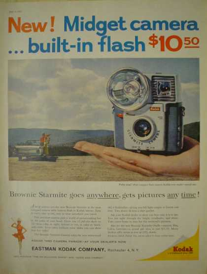 Eastman Kodak Co Midget Brownie Starmite Camera (1960)