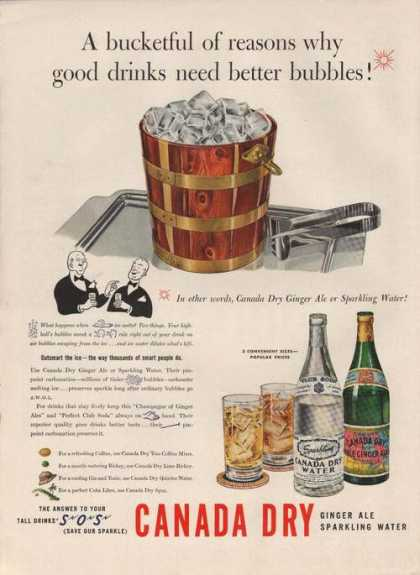 Canada Dry Ginger Ale Sparkling Water (1941)