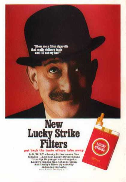 Lucky Strike Cigarettes – New Filters (1966)