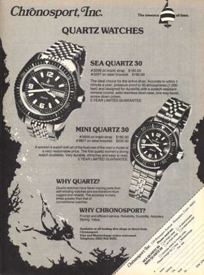Chronosport Divers Watch Diving T (1979)