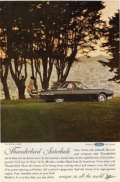 Ford's T-Bird (1962)