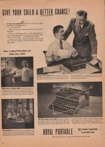 Royal Standard Typewriter (1946)