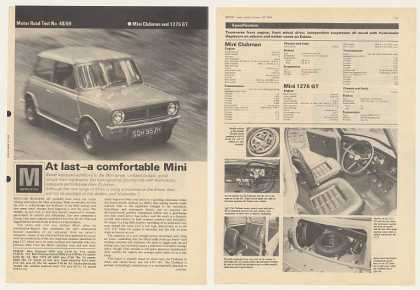 Mini Clubman 1275 GT 6-P British Road Test Article (1969)
