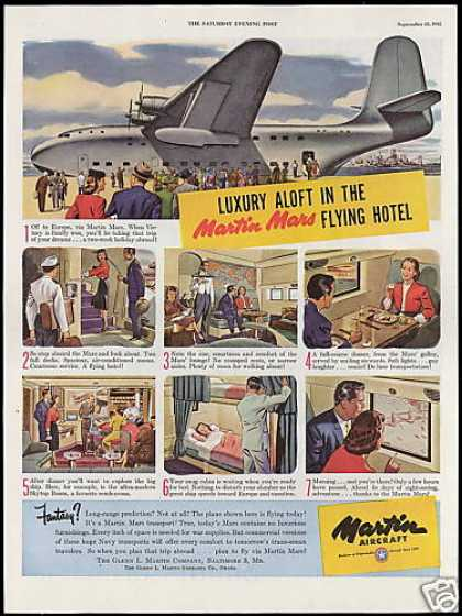 Martin Aircraft Mars Transport Airplane (1945)