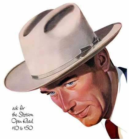 Stetson Open Road Hats (1950)