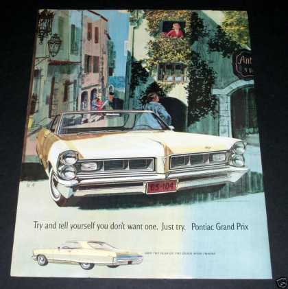 Pontiac Grand Prix, Wide Track (1964)