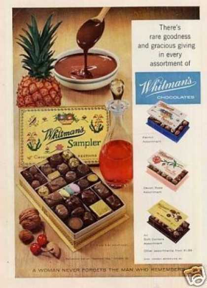 Whitman's Chocolate Candy (1958)